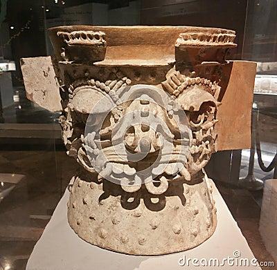 Ceremonial Aztec Vase