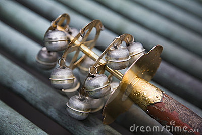 Ceremonial bells in Japan