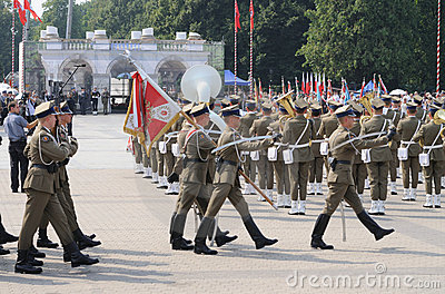 Ceremonial guard Editorial Stock Image