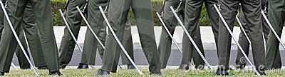Ceremonial guards