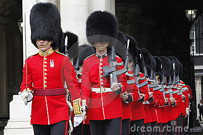 Ceremonial Guards Editorial Photo