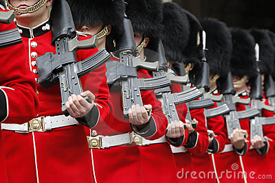 Ceremonial Guards Editorial Image