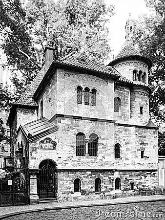 Free Ceremonial Hall Near Jewis Cemetery In Josefov Quarter, Old Town Of Prague, Czech Republic Stock Photos - 102480913