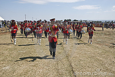 Ceremonial Marching band marching Editorial Photography
