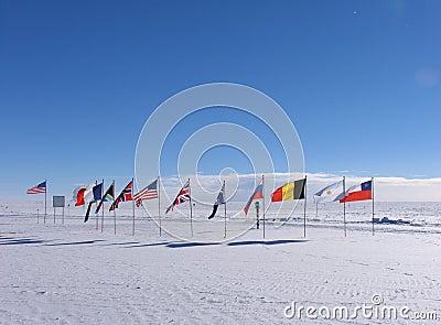Ceremonial South Pole