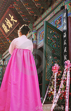 Ceremony in Korea