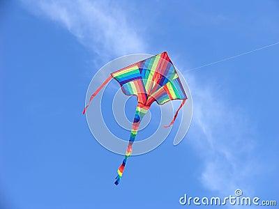 Cerf-volant coloré