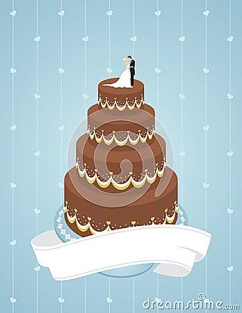 Cerimonia nuziale della torta
