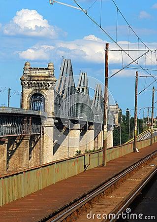 Free Cernavoda Danube Bridge Stock Photography - 12573122