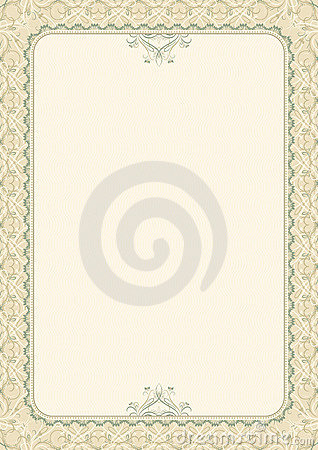 Certificate background, vector