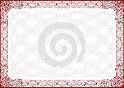Certificate Border Letter