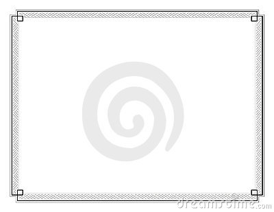 Certificate Border Stock Images - Image: 23766294