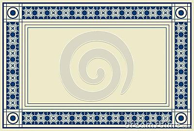 Certificate broder frame