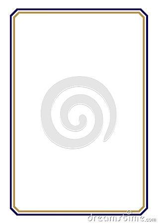 Certificate Design A3