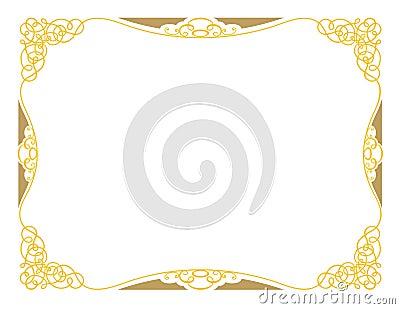 Certificate Design A3 Ornamental