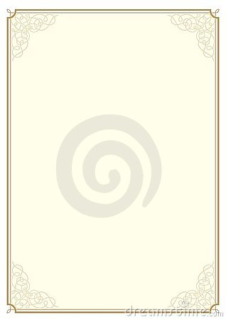 Certificate Design A4