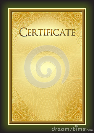 Free Certificate - Diploma - Award Stock Photos - 43512163