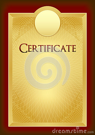 Free Certificate - Diploma - Award Royalty Free Stock Photography - 43637187