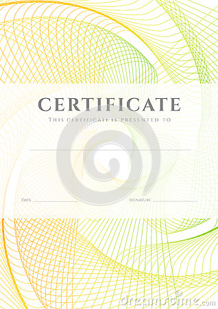 Certificate Diploma Background Template Stock Images Image 32827434