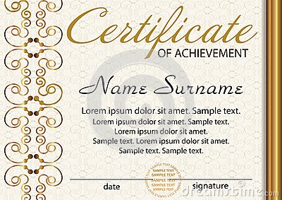 Certificate Or Diploma Template Award Winner Reward – Certificate Winner