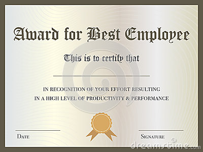 Certificate Stock Illustration Image 48864425
