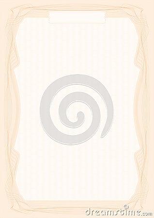 Certificate pattern v1