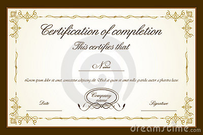Free images certificate template certificate template yadclub Images