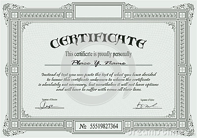 Blank Certificates Templates Free Download  Free Download Certificate Templates