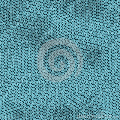 Cerulean Animal Skin and Material Pattern