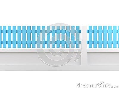 Cerulean fence