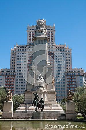Cervantes zabytek De Miguel
