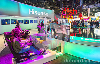 CES 2013 Editorial Stock Photo