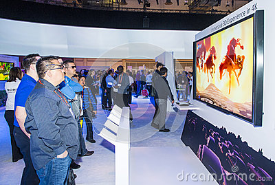 CES 2013 Editorial Stock Image