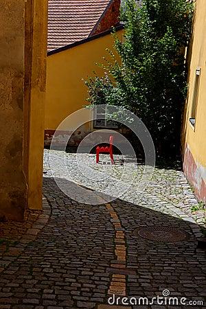 Cesky berömd för gatasommar för krumlov 2011 town