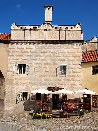 Cesky Krumlov, Czech Republic Editorial Photo