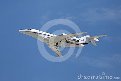 Cessna 750 N750VP Editorial Stock Image
