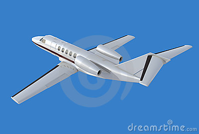 Cessna Citation cj4 rear view