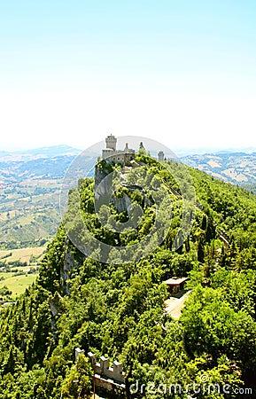 Cesta tower on Monte Titano