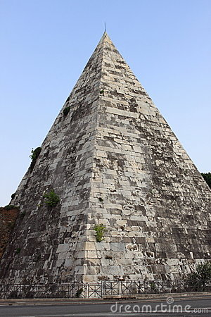 Cestia Pyramid in Rome