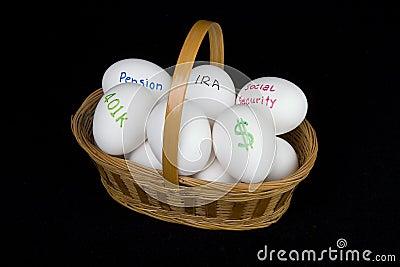Cestino di pensione