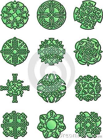 Cetlic Style Ornaments