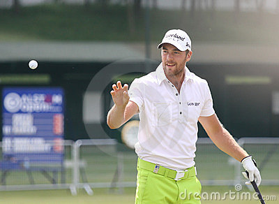 Cevaer chrześcijanina de France golf otwarty Zdjęcie Editorial