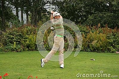 Cevaer, Green Velvet golf pro-am, Megeve, 2006 Editorial Photo