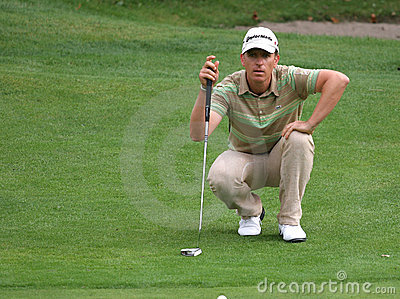 Cevaer, Green Velvet golf pro-am, Megeve, 2006 Editorial Stock Image
