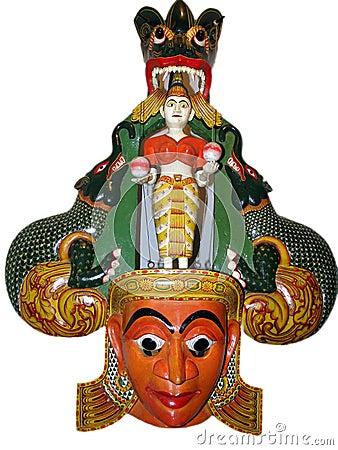 Ceylon mask