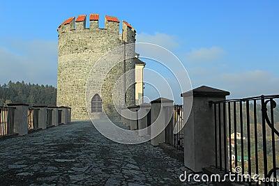 Cezky Sternberk castle tower