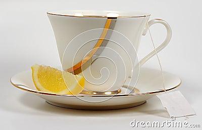 Chá e limão