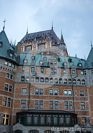 Ch teau frontenac quebec city at night for Design hotel quebec city