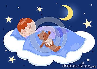 Chłopiec sen