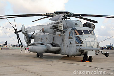 CH-53E Stallion Editorial Stock Photo